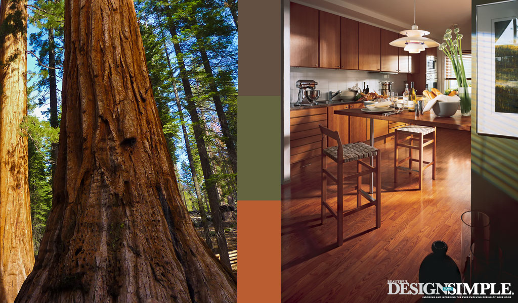 redwood inspired home decor