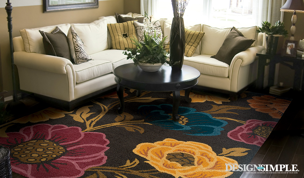 flower area rugs